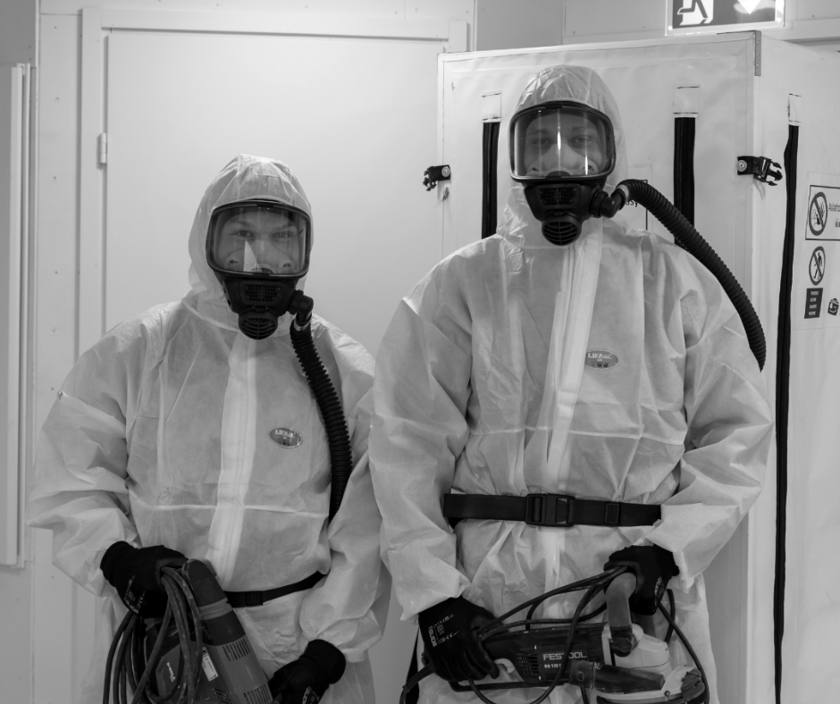 vv-kuivaus asbesti